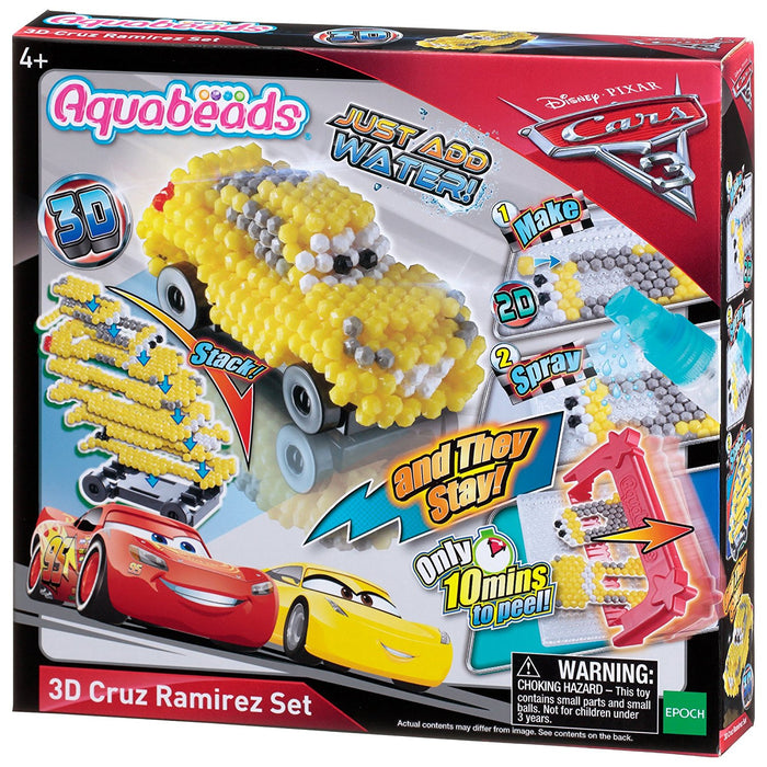 "Aquabeads ""Cars 3 Cruz Ramirez"" 3D Set"