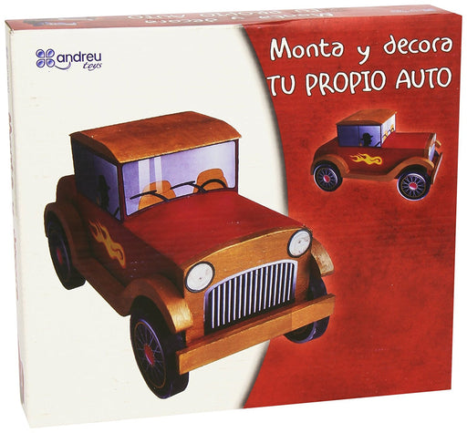 Andreu Toys 25 x 22 x 5 cm Assemble and Paint Your First Car (Multi-Colour)