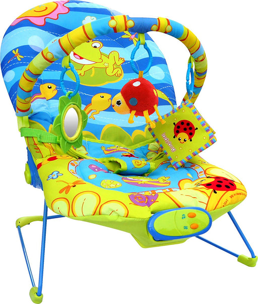 Bebe Style Ocean World Baby Recline Bouncer with Vibration and Music