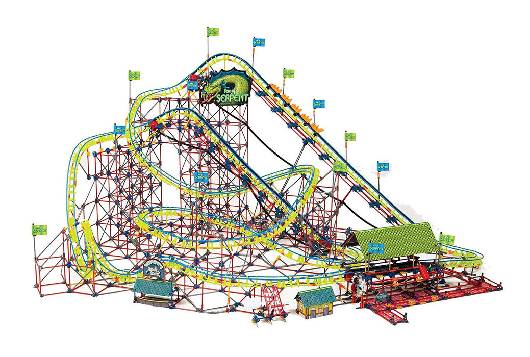 K'Nex Son of Serpent Coaster Building Set
