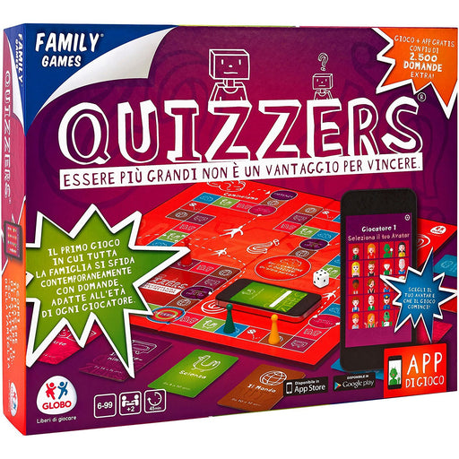 Family Games 37921 Quizzers Board Game