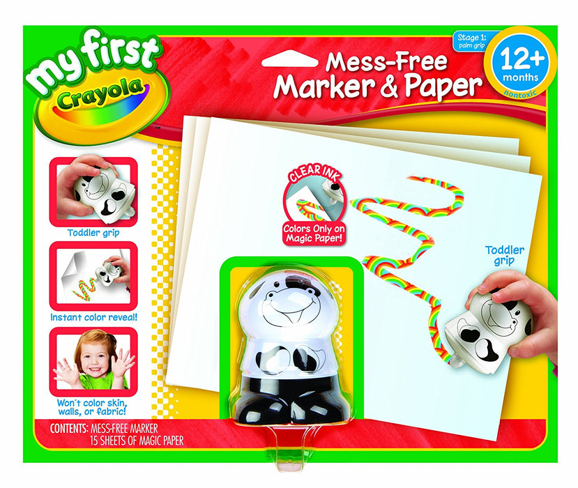 Crayola My First Crayola No Mess Marker and Paper Set