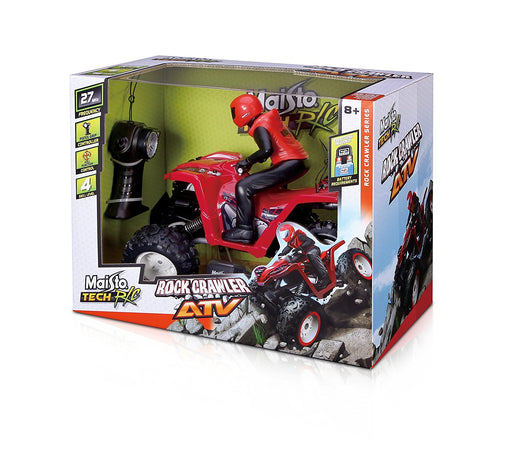 "Maisto 81323 ""Rock Crawler Atv"" Remote Controlled Toy Car with Controller"