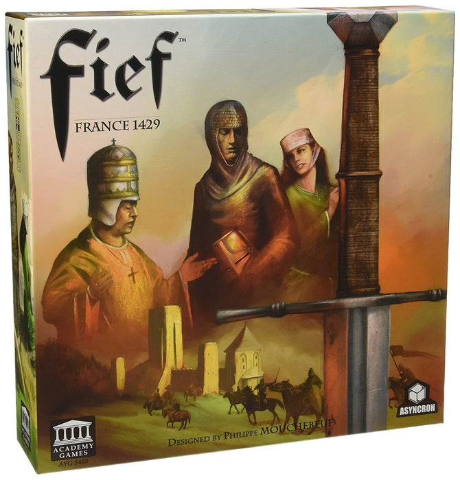 "Academy Games ACA05450 ""Fief"" Board Game"