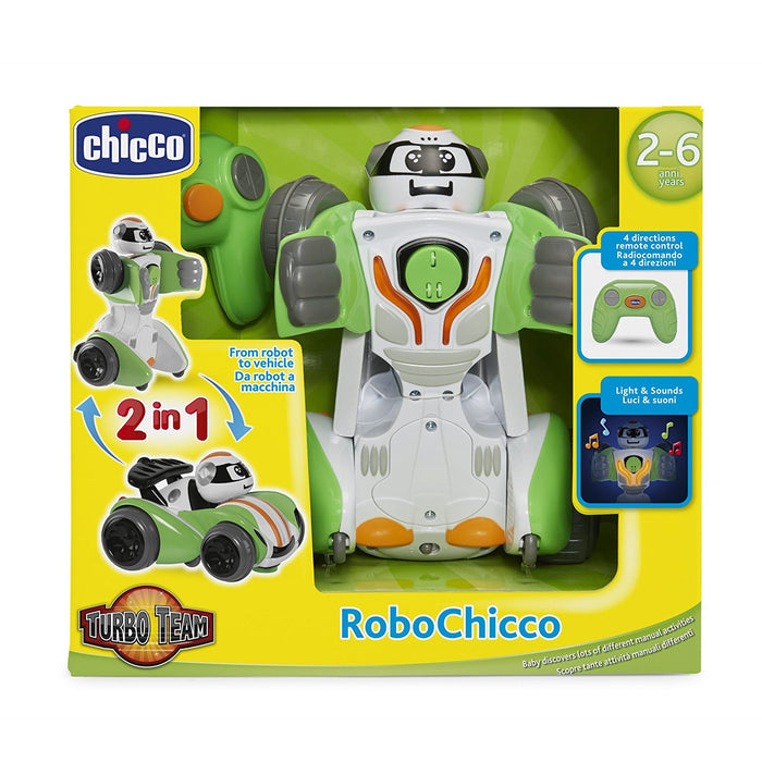 Chicco 00007823000000 The First Transformable Remote Control Toy for Pre School Kids