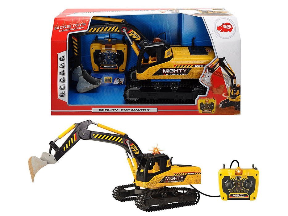 Dickie Toys Mighty Excavator (Multi-Colour)