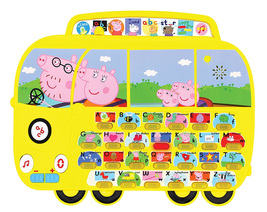 Peppa Pig PP01 Alphaphonics Campervan Electronic Toy
