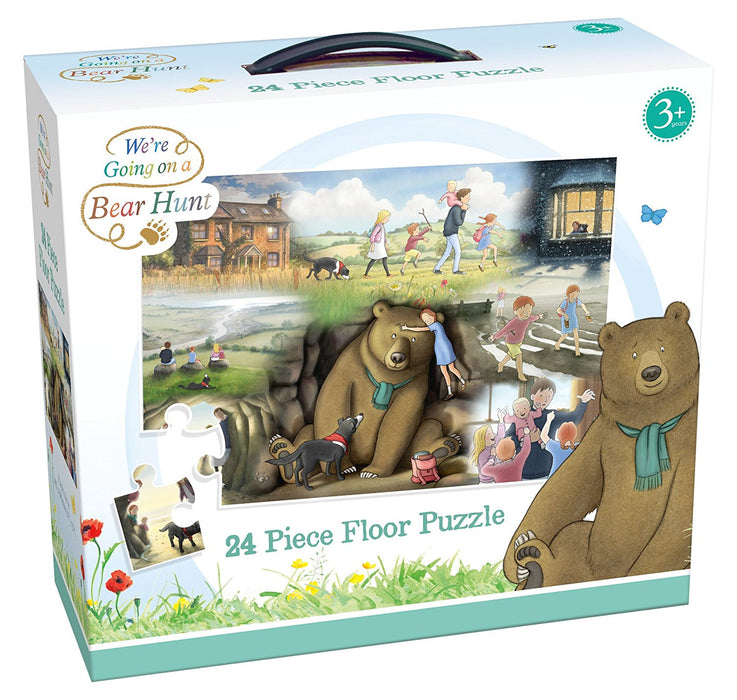 "Paul Lamond 6725 ""We're Going on a Bear Hunt"" Giant Floor Puzzle (24-Piece)"