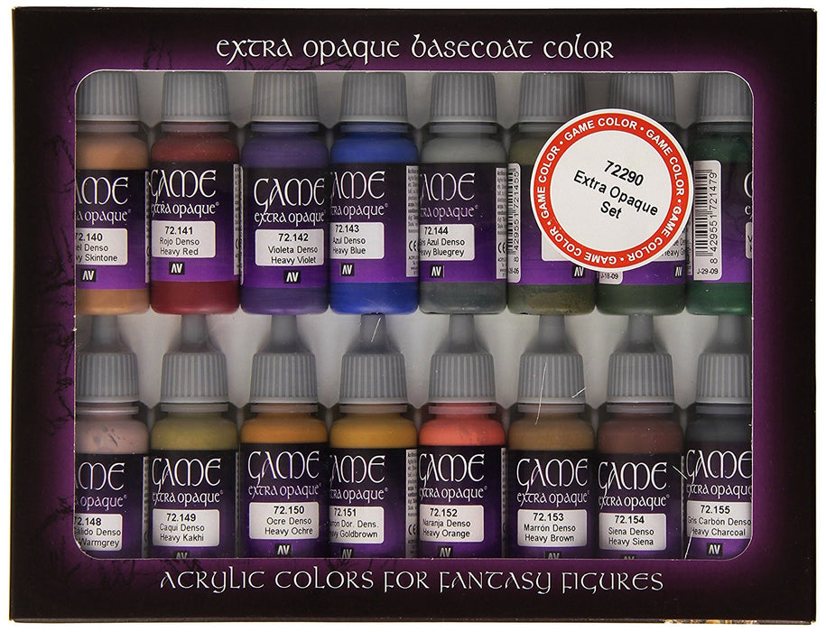 Vallejo Game Color Extra Opaque Painting Set Set Of 16 Toptoy