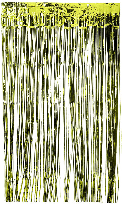 Amscan International 24200-53 91 cm x 2.43 m Kiwi Green Door Curtain