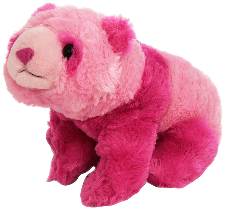 Wild Republic Europe 30 cm Cuddlekins Vibes Panda Plush Toy (Pink)