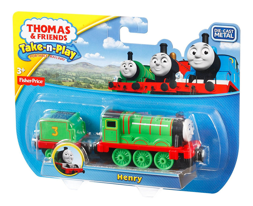 Thomas & Friends Take-n-Play Henry Engine
