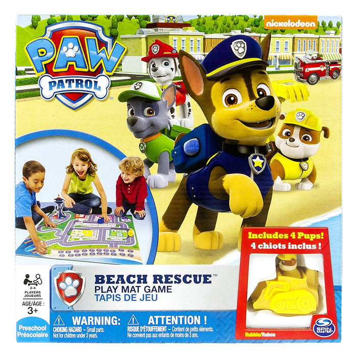 Paw Patrol Beach Rescue Playset