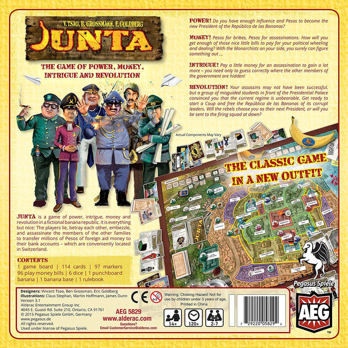 Alderac Entertainment ALD05829 Junta Board Game