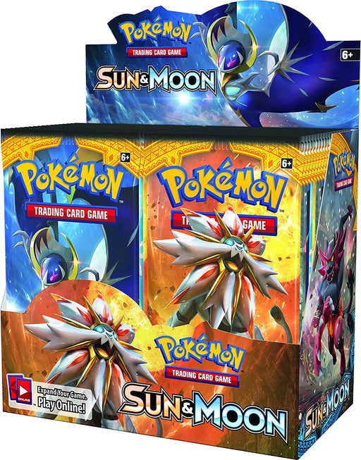 Pokémon 160-81194 Sun and Moon Booster Display