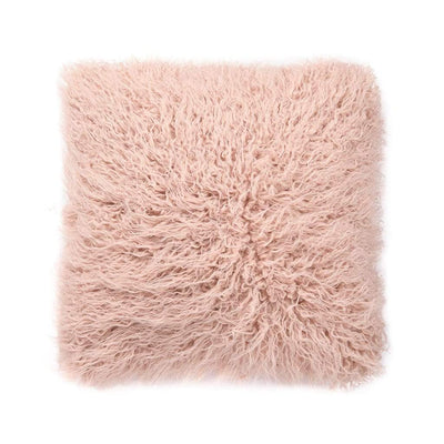 BALLET PINK ASTRAKHAN CUSHION - MyHouse