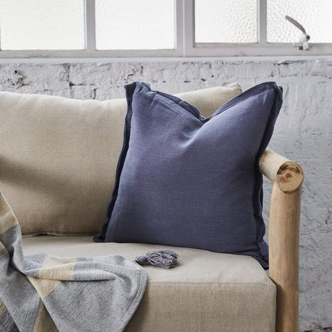 BAMBOO LINEN MIDNIGHT EUROPEAN PILLOWCASE - MyHouse