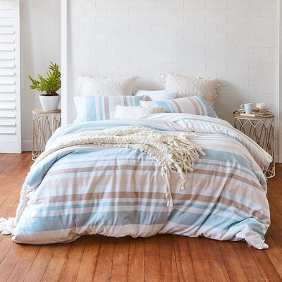 CAMERON HAZELNUT QUILT COVER SET - MyHouse