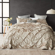 CHARMAINE GOLD COVERLET SET - MyHouse