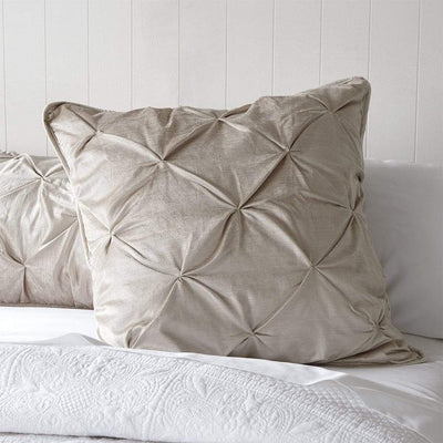 CHARMAINE GOLD EUROPEAN PILLOWCASE - MyHouse