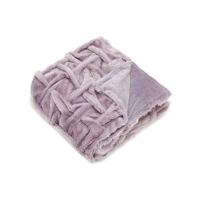 LAVENDER SANSA THROW - MyHouse