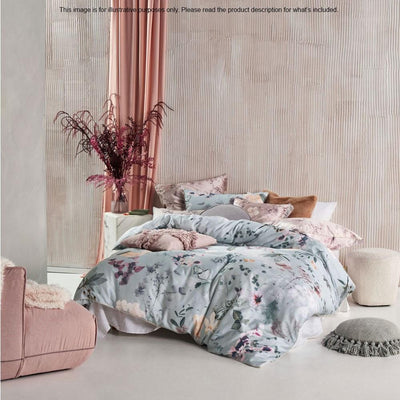 Linen House Azalea Stillwater Quilt Cover Set