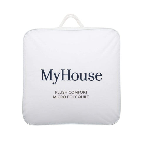 PLUSH COMFORT MICROPOLY BLEND QUILT - MyHouse