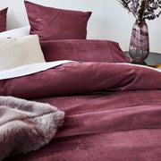 STELLA RED QUILT COVER SET