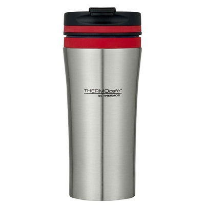 Thermos 380ml Stainless Steel Double Wall Vacuum Insulated Travel Tumbler Red