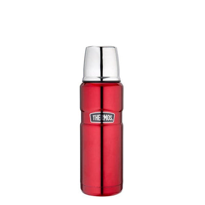 Thermos 470ml Stainless Steel Vacuum Insulated Flask - Red