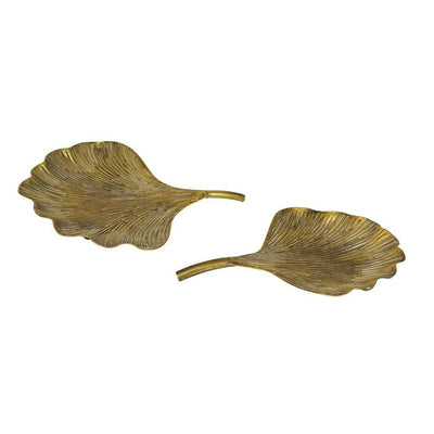 VANTAGE GOLD LEAF TRAY SMALL - MyHouse