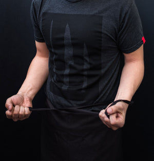 Blakbits Minimal Black on Black T-shirts - Chef