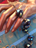 One of A Kind Brass and Glass Beaded Necklace