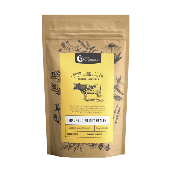 Beef Bone Broth Powder Turmeric - 100g