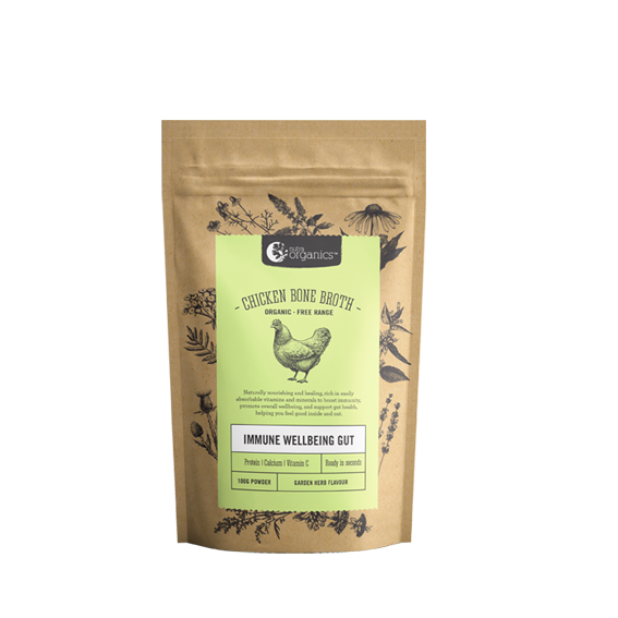 Chicken Bone Broth Garden Herb - 100g