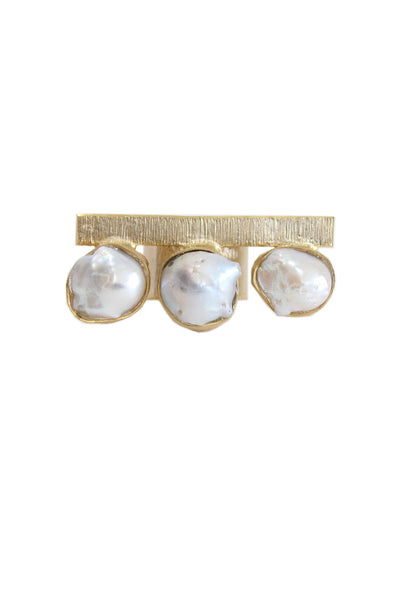 Barroco pearl ring - BY ELORA