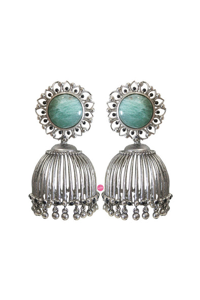 Statement jhumki earrings