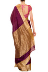 Raw Mango Wine Saree - BY ELORA