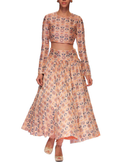 Inayat Churidar Skirt Set