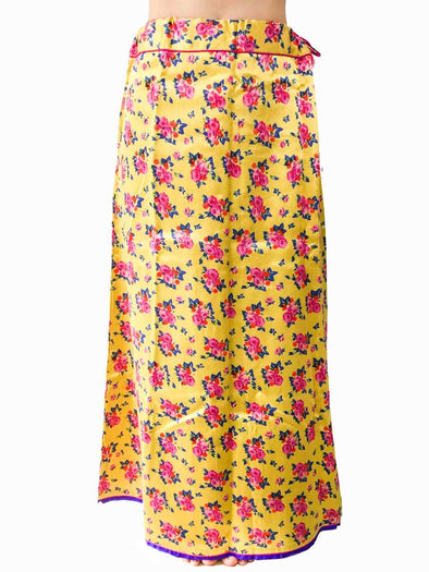 Floral yellow petticoat by Raw Mango