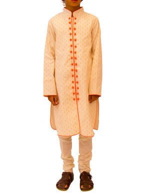 Boys Neon Pop Kurta Pyjama