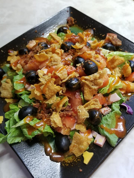 The Chick 'N' Skin Salad