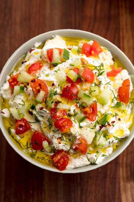 Amazing Greek Feta Dip For Chick N' Skins