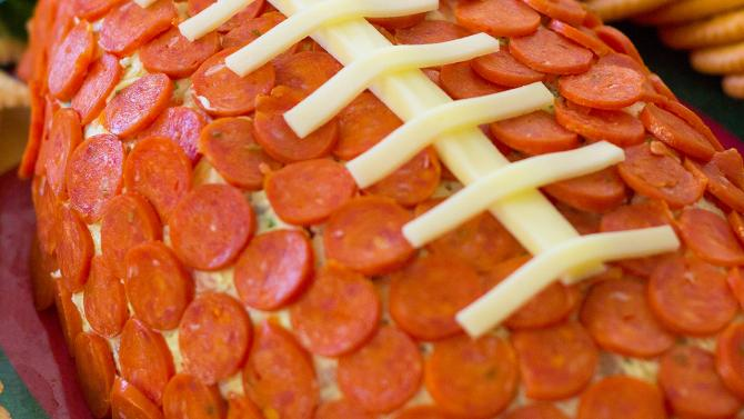 Game Day Pepperoni Football