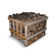 Kiln Dried Oak Firewood Crate
