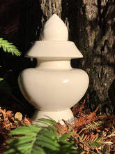 Pure White Vase.  Perfect to bury in the earth to rebalance the elements.  The vases heal and protect against disease, famine, and warfare; it protects against all manner of negativity while bringing about good fortune and abundance to the people and environment where it is placed.