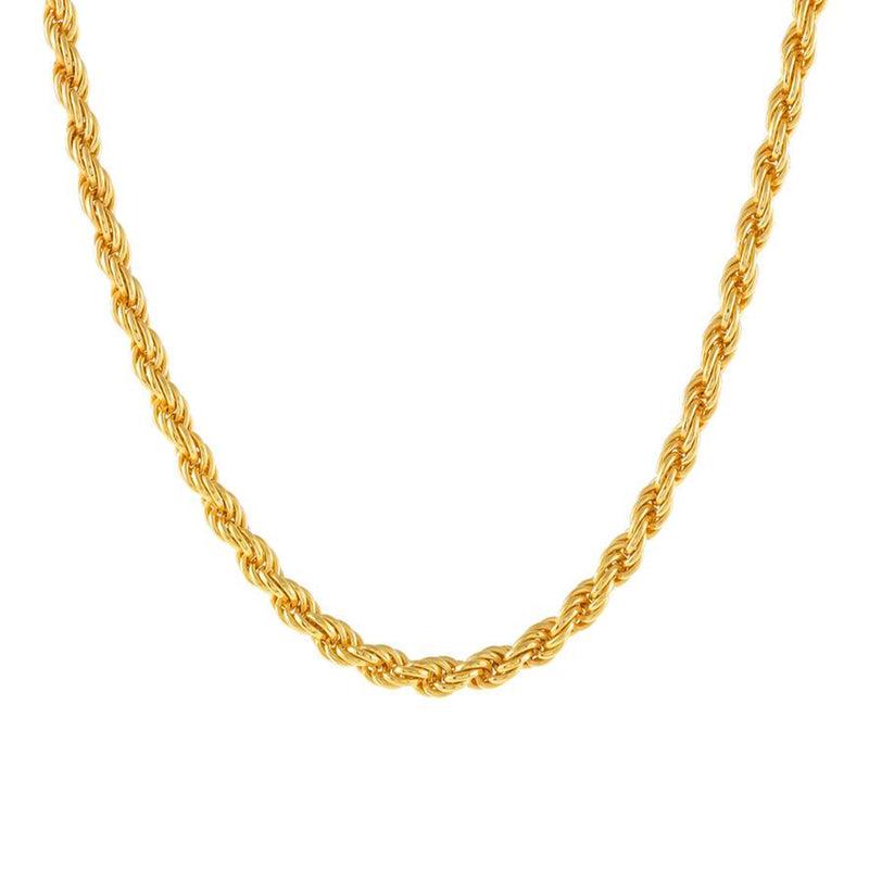 COLLAR ROPE GOLD