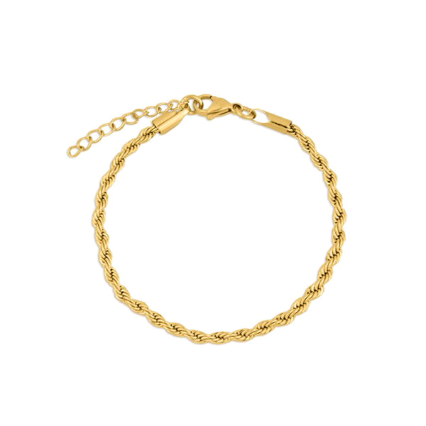 PULSERA ROPE GOLD