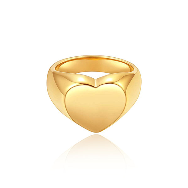 ANILLO HEART GOLD