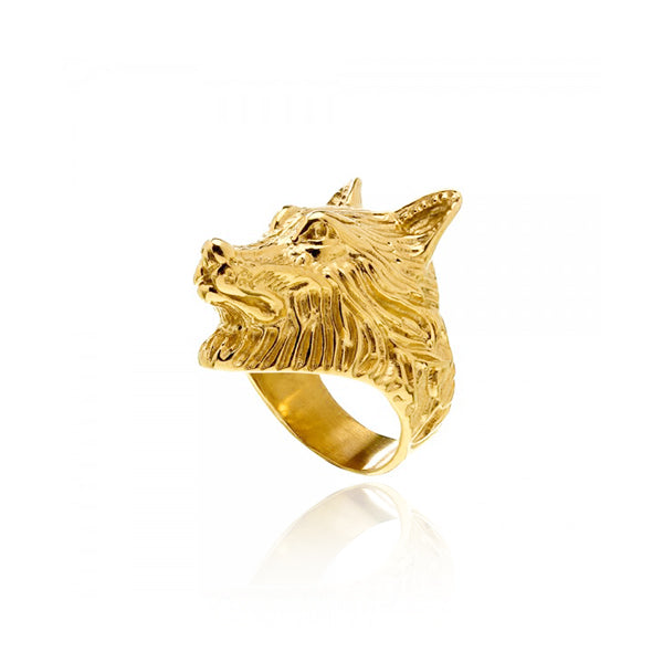 ANILLO WOLF GOLD